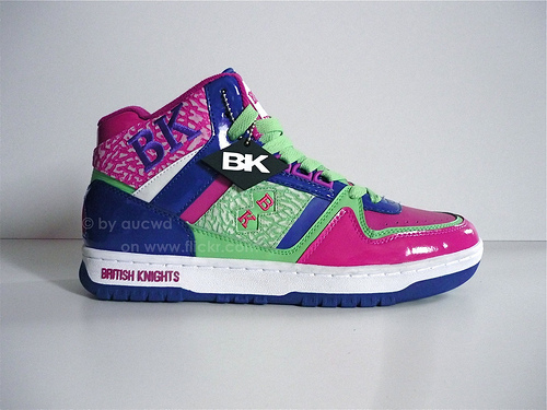 Old School British Knights Shoes